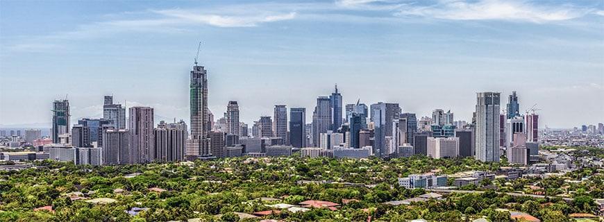 Arm, reich, Land, Stadt: Manila ist ein Ort der Gegensätze.