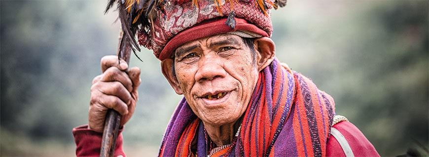 Alte Kulturen: Auf den Philippinen leben noch Menschen der Ifugao.
