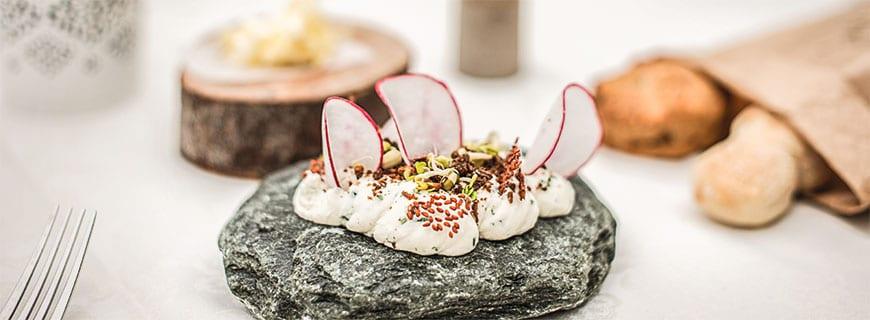 Im Jaglhof steht außergewöhnliche Kulinarik auf der Karte.