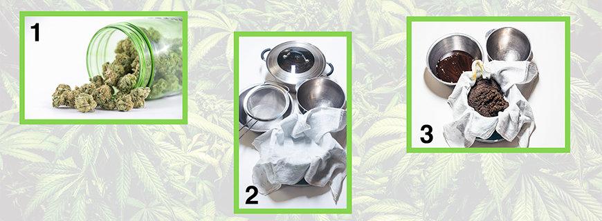Cannabis Slow-Butter Herstellung