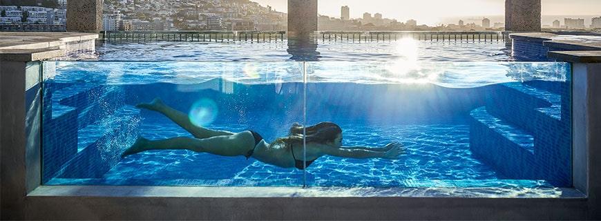 Im Herzen von Kapstadts V&A Waterfront befindet sich seit Kurzem das luxuriöse Silo Hotel mit Blick über die Stadt.