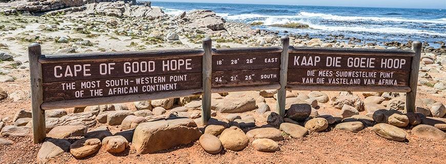Am Kap der Guten Hoffnung weht eine steife Brise.