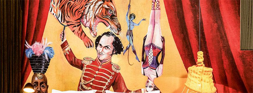 Zirkus-Motiv