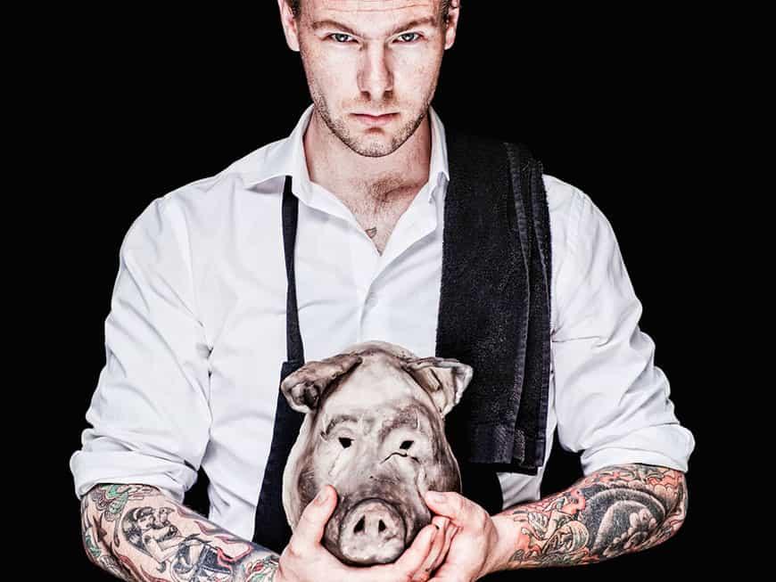 Im Restaurant Bastard geht es wild zu: Chef Andreas Dahlberg kocht ehrliche Küche mit Fine-Dine-Anspruch