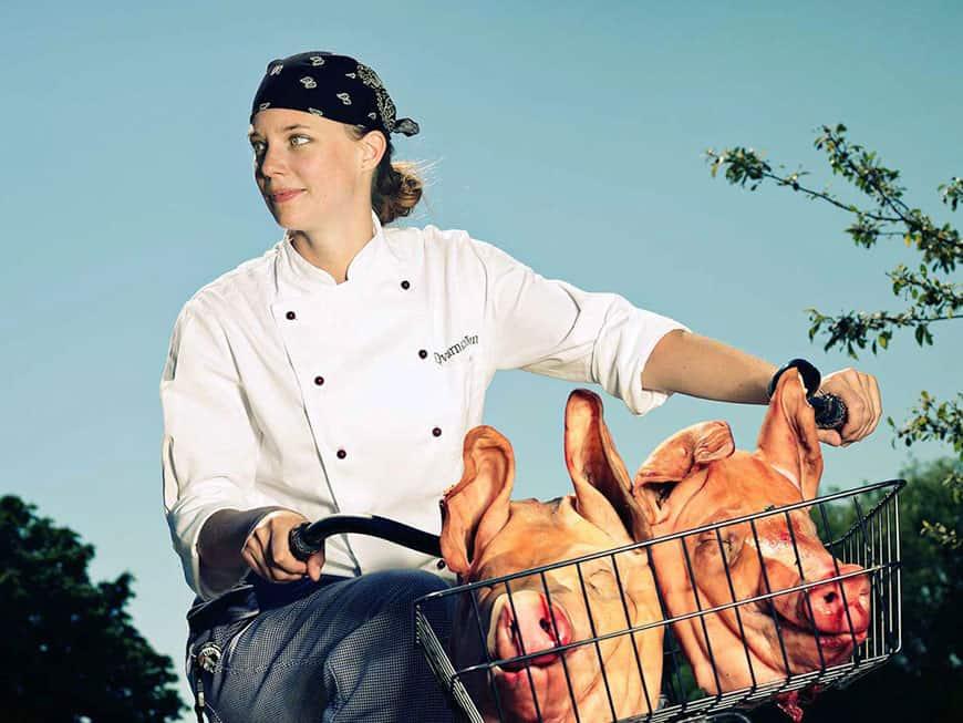 Die erste Chefin Skandinaviens mit Stern: Titti Qvarnström kocht im Bloom in the Park ordentlich auf