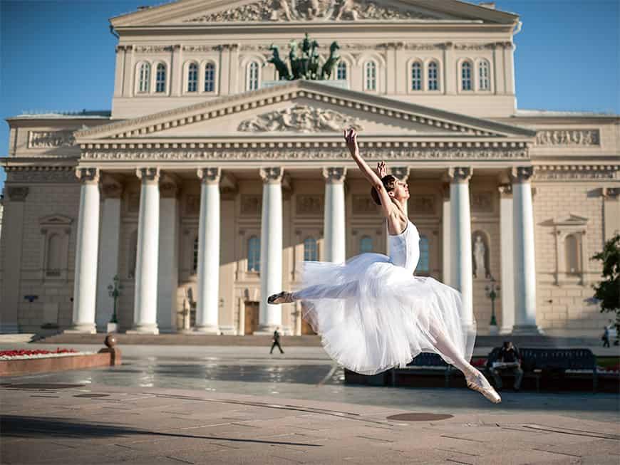 Das Bolschoi-Theater ist eines der schönsten der Stadt – und drei Monate im Vorfeld ausverkauft