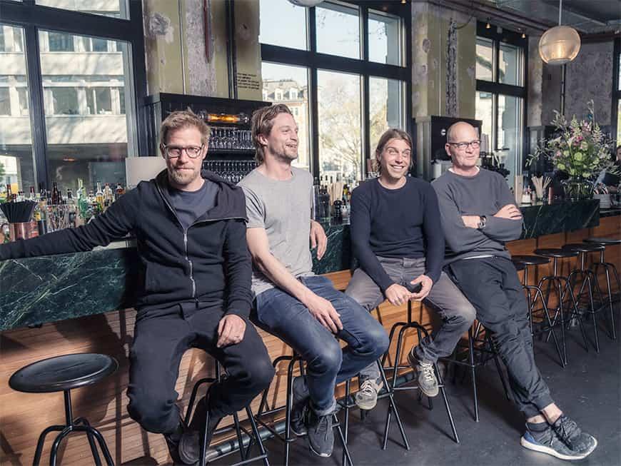 Die Viererformation funktioniert seit 2008 mit den Partnern Marc Blickenstorfer, Mischa Dieterich, Roger Link und Thomas O. Maurer.