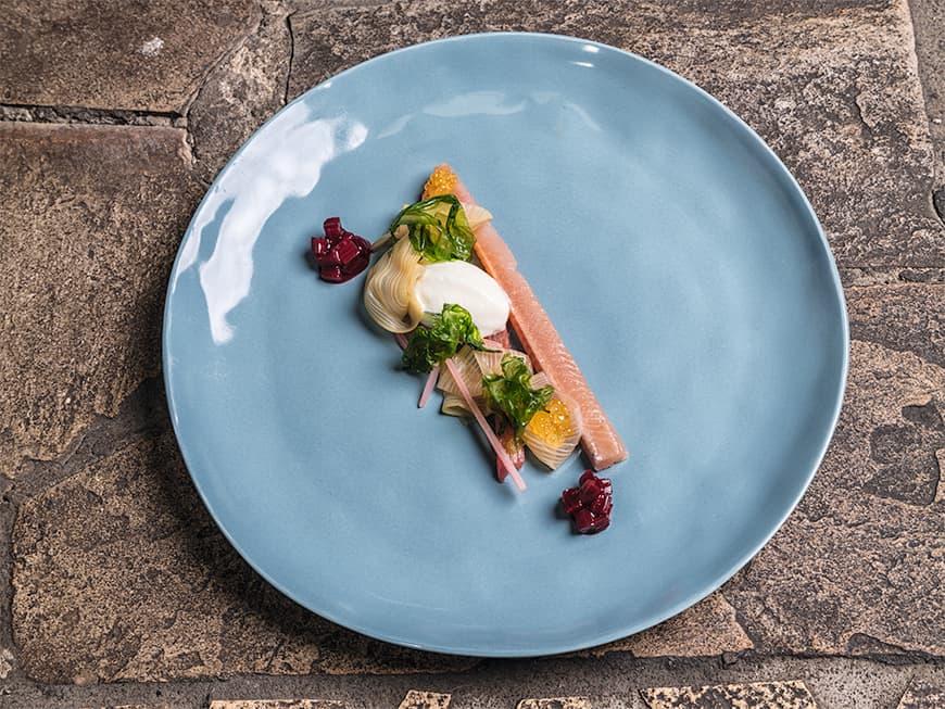 Gericht vom Küchen-Duo Traxler/Priestner