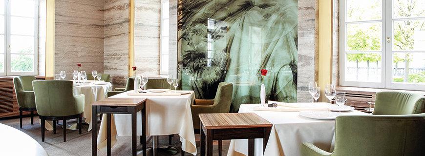 Restaurant Vendôme mit seinem stilvollen Interieur