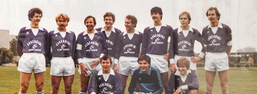 Eckart Witzigmann im Sportteam
