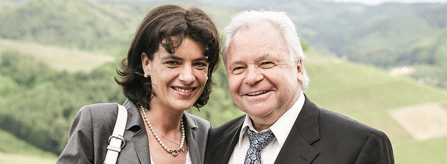 Eckart Witzigmann und Nicola Schnelldorfer