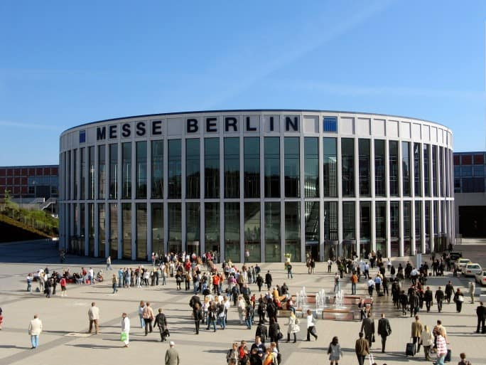 Berliner Messe Rolling Pin News